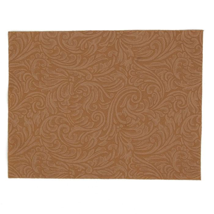 "Embossed Felt Galleria 9"" x 12"" Craft Cut Cashmere Tan"