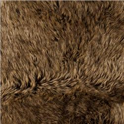 Faux Fur Desert Fox Gold Fabric