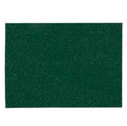 "Glitter Felt 9"" x 12"" Craft Cut Green"