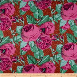 Kaffe Fassett Home Decor Twill August Rose Magenta