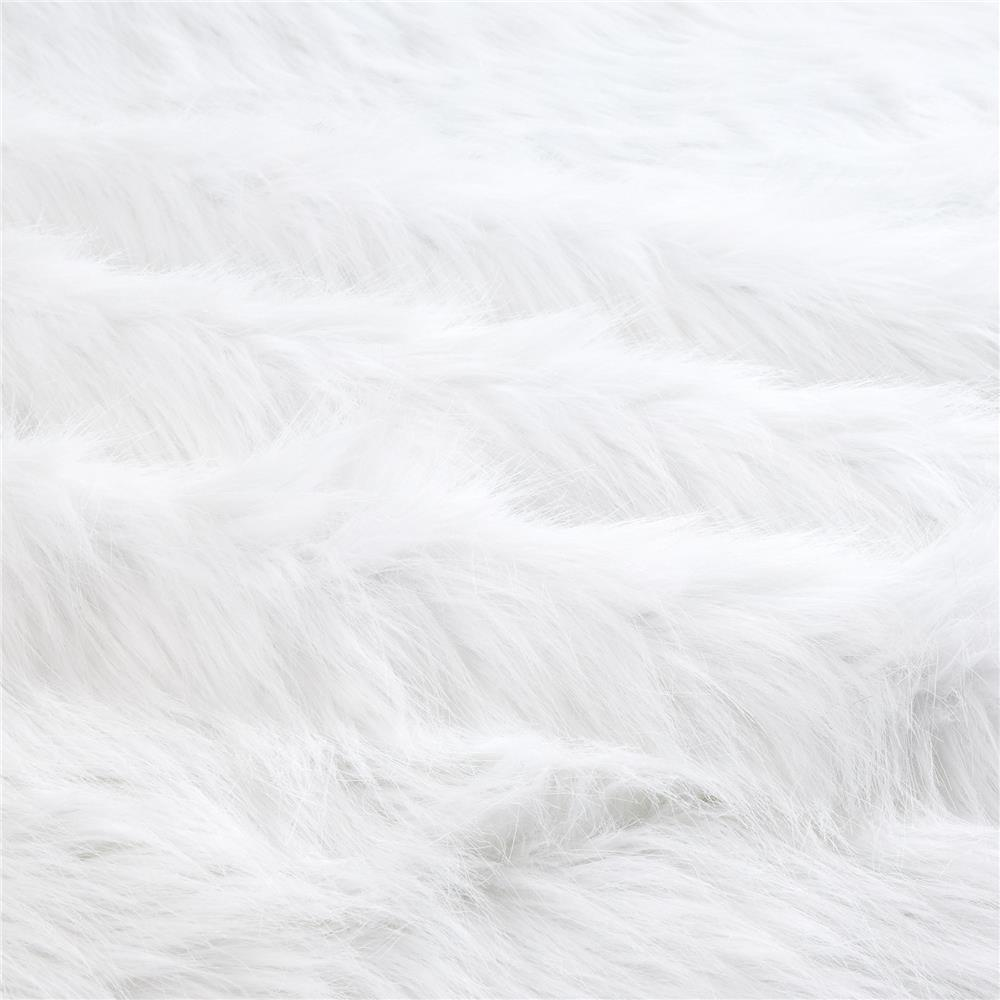 Shannon Faux Fur Arctic Fox White