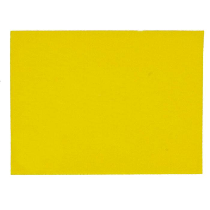 "Friendly Felt 9"" x 12"" Craft Cut Yellow"