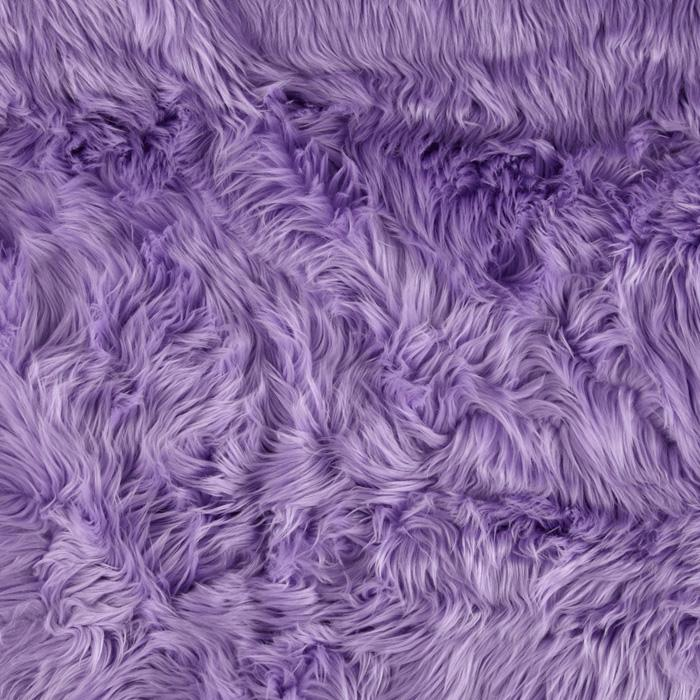 Faux Fur Luxury Shag Lavender