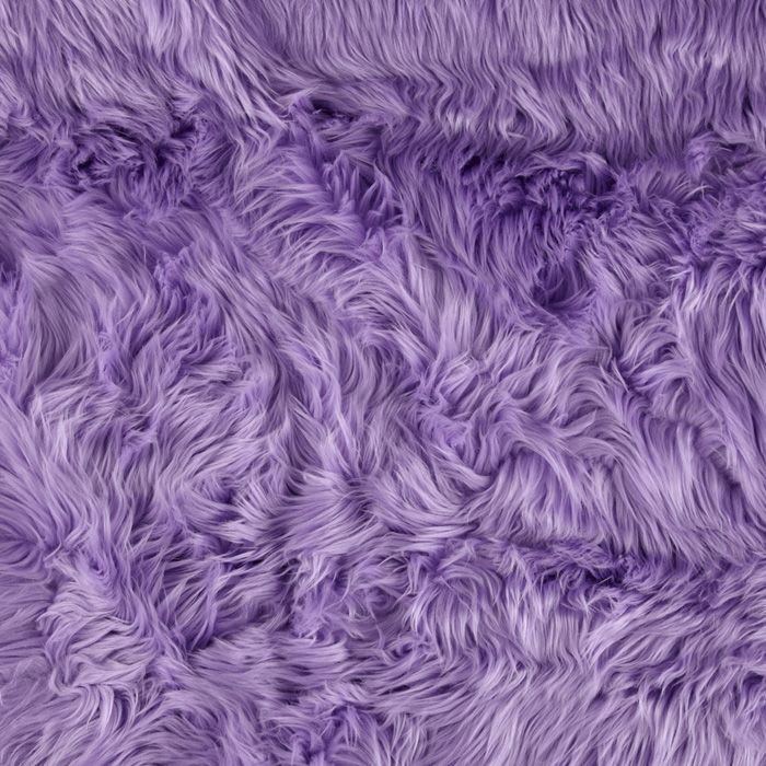 Fabric.com coupon: Shannon Faux Fur Luxury Shag Lavender