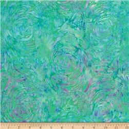 Tonga Batik Painted Lady Whirlpool Mint