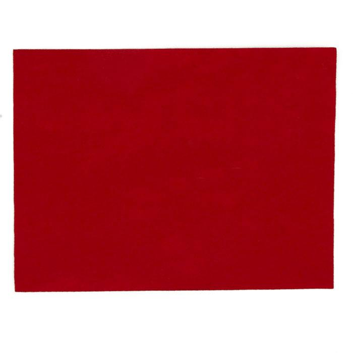 "Stick'rz Felt 9"" x 12"" Craft Cut Red"