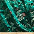 Chinese Brocade Phoenix Emerald