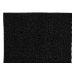 "Glitter Friendly Felt 9"" x 12"" Craft Cut Black"
