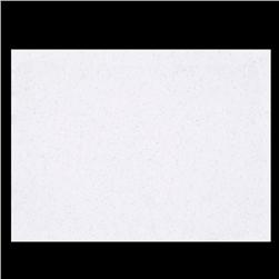 Glitter Felt 9'' x 12'' Craft Cut White