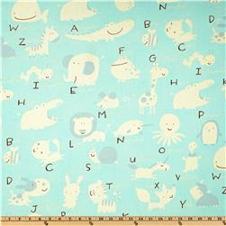 Baby Talk Animal Alphabet Blue