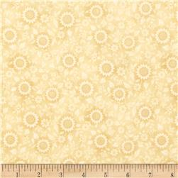 Prized Poultry Floral Vines Natural Fabric