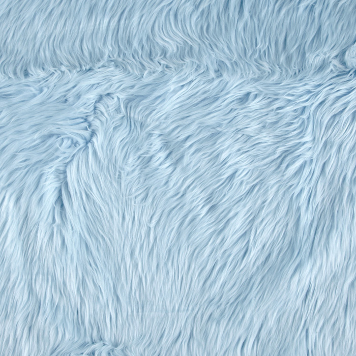 Fabric.com coupon: Shannon Faux Fur Luxury Shag Baby Blue Fabric