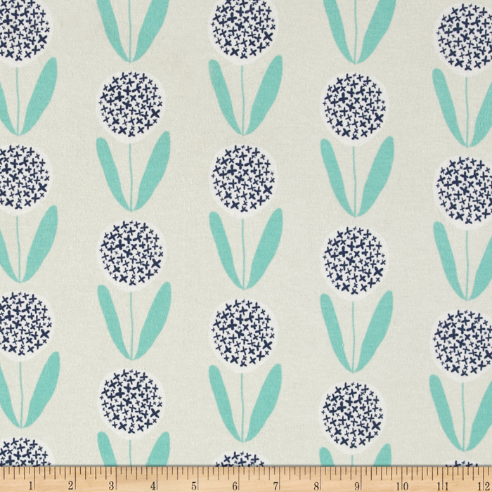 Art Gallery Curiosities Knit Candied Lollies Mint Fabric by Art Gallery in USA