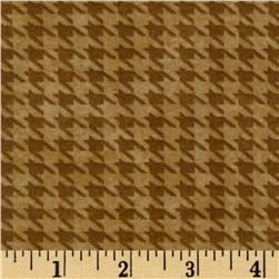 Alpine Woods Alpine Houndstooth Gold