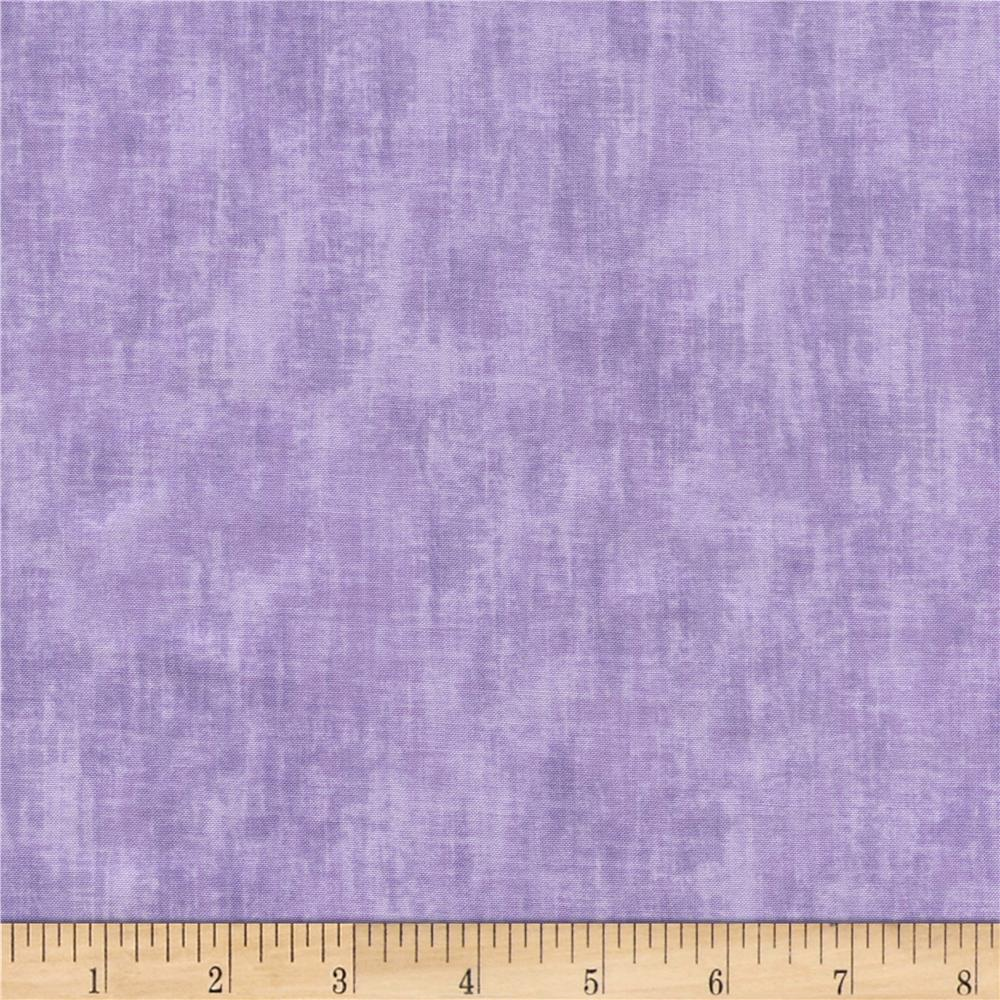 Timeless Treasures Studio Brushed Linen Texture Lilac