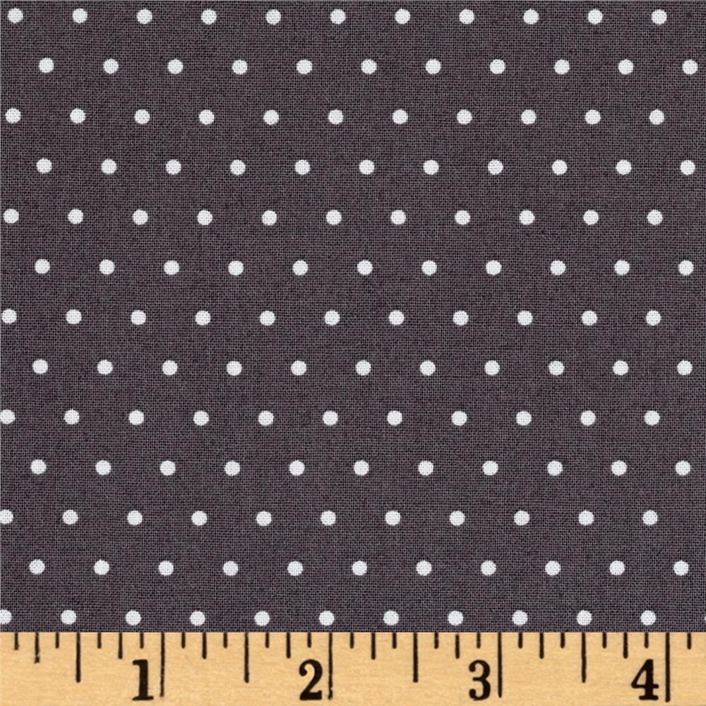 Marcus Grumpy Cat Dots Gray