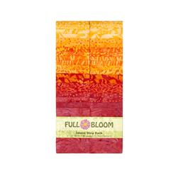 Island Batik Full Bloom 2.5 In. Island Strips