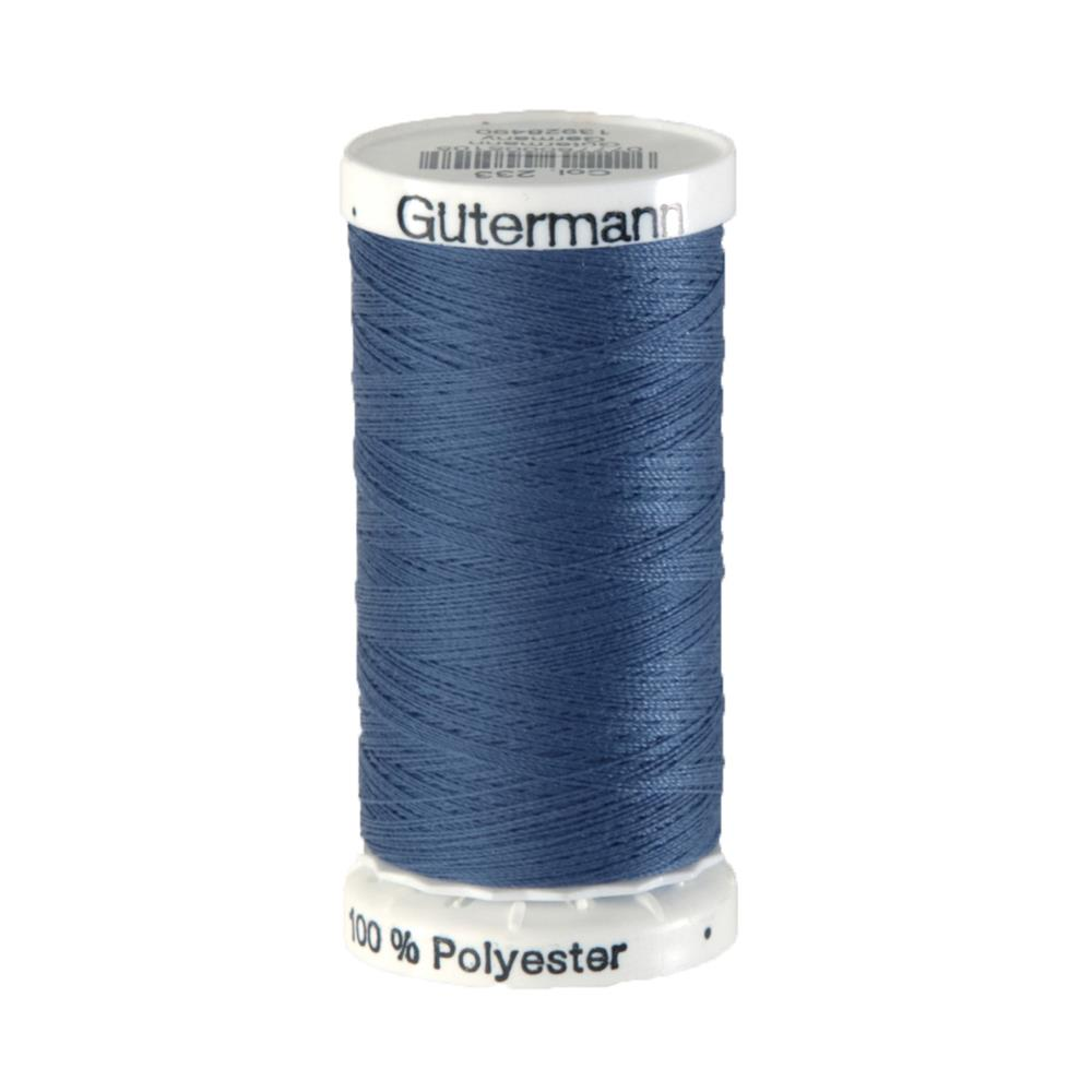 Gutermann Sew-all Polyester All Purpose Thread 250m/273yds Slate