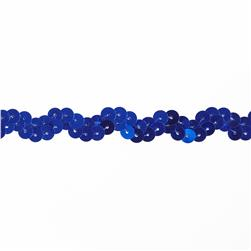Team Spirit 1/2'' #46 Sequin Trim Royal