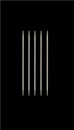 HiyaHiya Steel 4'' Double Pointed Knitting Needles US 0 (2mm)