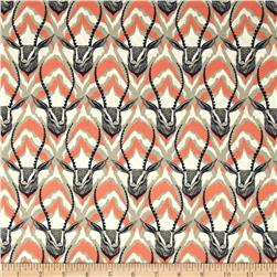 Cotton & Steel August Gazelle Coral
