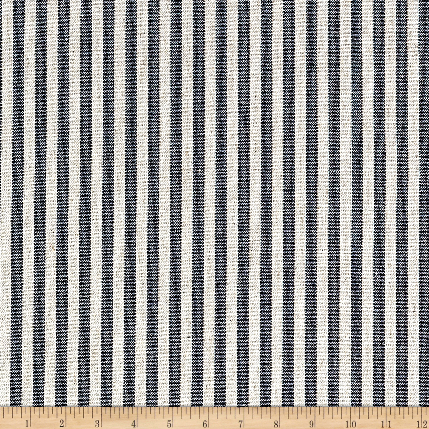 Golding by P/Kaufmann Scout Stripe Canvas Navy Fabric by Golding in USA