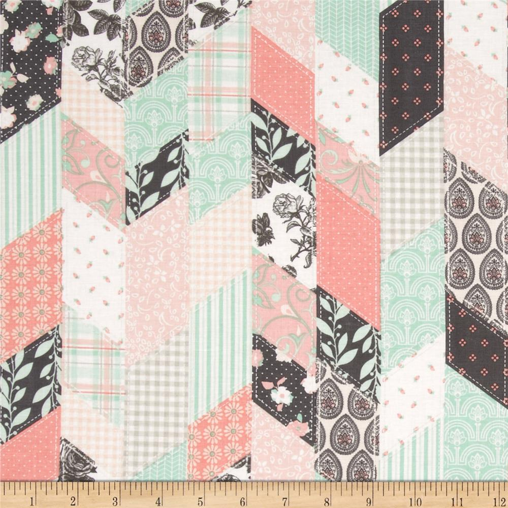 Riley Blake Sew Charming Designer Cloth Coral