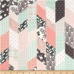 Riley Blake Sew Charming Designer Cloth Coral Fabric