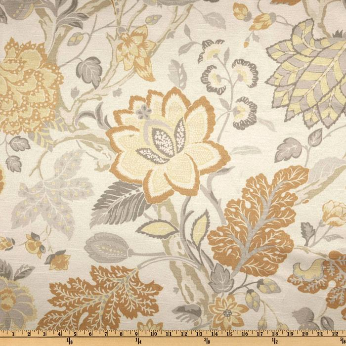 Richloom Alfresco Antique Satin Floral Dove