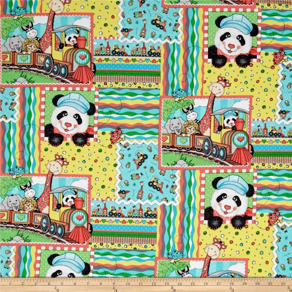 Nursery Bazooples Choo Choo Patch Multi