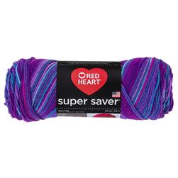 Red Heart Super Saver Yarn 3931 Grape Fizz (m)
