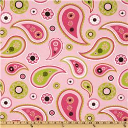 Premier Prints Richmond Paisley Maggie/Candy Pink