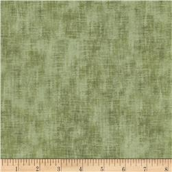 Timeless Treasures Studio Brushed Linen Texture Dill