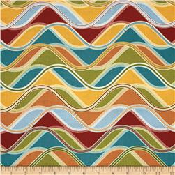 Robert Kaufman Vantage Point Wavy Stripe Retro