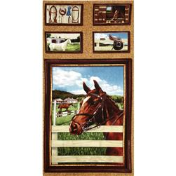 World of Horses Panel Multi