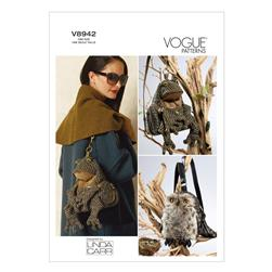 Vogue Bags Pattern V8942 Size OSZ