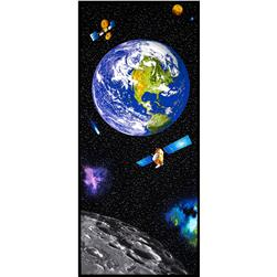 "I Want My Space 57"" Wide Out of This World Panel Multi"