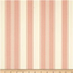 Tanya Whelan Petal Home Decor Sateen French Stripe Pink