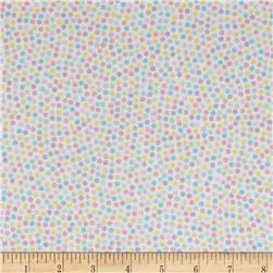 Kanvas Spring Parade Jelly Bean Dot White Multi