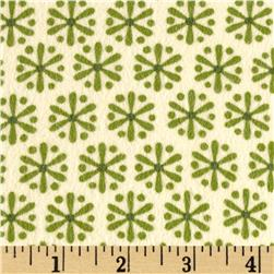 Kanvas Knitty Kitty Flannel Jax Cream Fabric