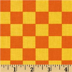 Ace Checkers Orange/Yellow