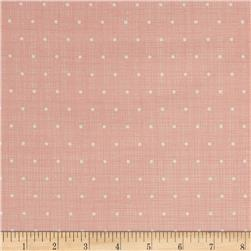 Moda Bayberry Chambray Dots Blossom