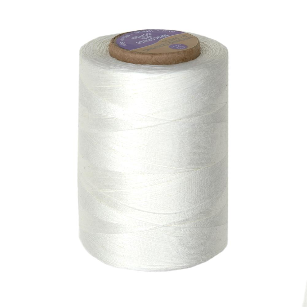 Coats & Clark Star Mercerized Cotton Quilting Thread 1200 Yd. Winter White