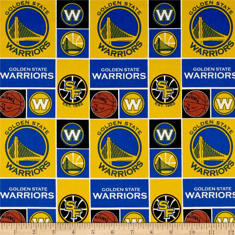 NBA Cotton Broadcloth San Francisco Golden State Warriors Patch