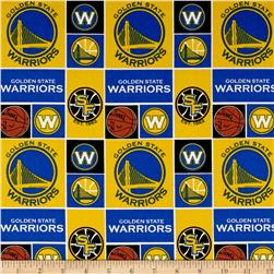 NBA Cotton Broadcloth San Francisco Golden State Warriors