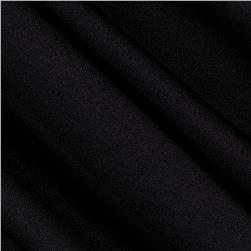 Polyester/Spandex Athletic Double Knit Black
