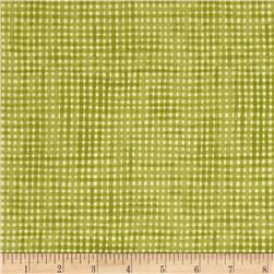Moda Garden Notes Picinc Plaid Fern Green