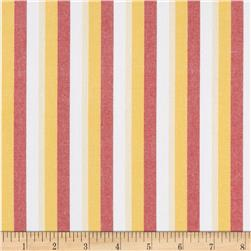 Kaufman Classic Threads Large Stripe Flame