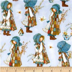 Holly Hobbie Flannel Packed Girls Blue