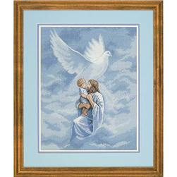 Dimensions Dove Of Peace 11'' x 14'' Counted Cross Stitch Kit